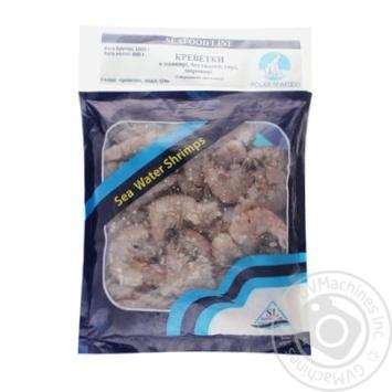 Креветки Seafood Line в панцире без головы сырые замороженные 21/25 1кг