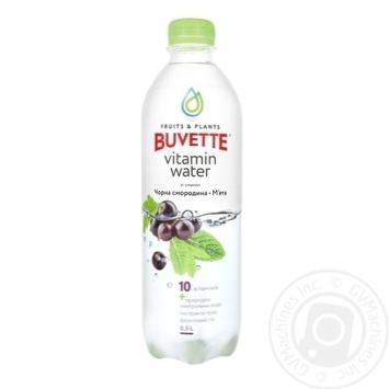 Напиток Buvette сокосодержащий со вкусом черной смородины и мяты 0,5л - купить, цены на Фуршет - фото 1
