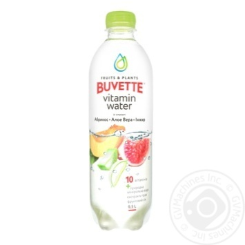 Buvette juice drink with aloe vera apricot and figs 0,5l - buy, prices for Furshet - image 1