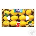 Napkins Bella №1 lemon paper 150pcs in a box