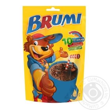 Какао-напиток Бруми растворимый витаминизированный с кальцием 150г - купить, цены на Novus - фото 1