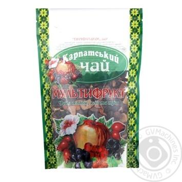 Чай Мультифрукт Карпатский Чай 100г - купити, ціни на Novus - фото 1
