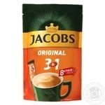 Jacobs 3in1 Original instant coffee 8pcs*12g - buy, prices for MegaMarket - image 1