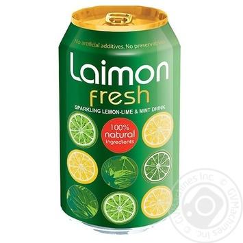 Напиток сокосодержащий Laimon Fresh газированный 0,33л - купить, цены на СитиМаркет - фото 1