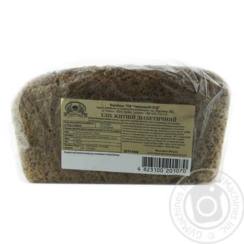 Хліб Формула смаку житній діабетичний формовий 300г - купити, ціни на Ашан - фото 2
