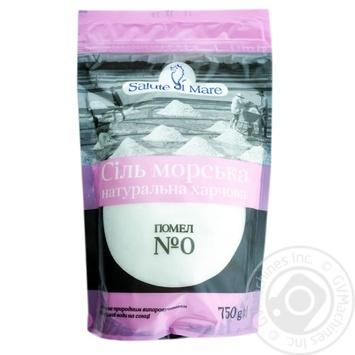 Сіль Salute di Mare морська харчова дрібна 750г - купити, ціни на Novus - фото 1