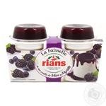 Десерт творожный Rians Фессель с ежевикой и черникой 3,2% 240г