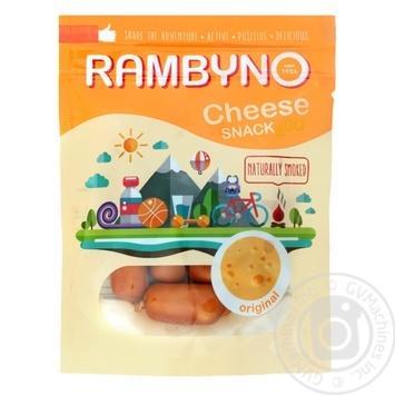 Сыр плавленый Rambyno копченый оригинальный 75г