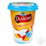 Dolce Peach Flavored Cottage Cheese Dessert 0,2% 400g