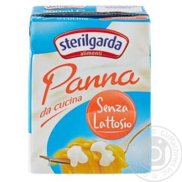 Вершки Sterilgarda Alimenti Кулінарні без лактози 23% 200г - купити, ціни на CітіМаркет - фото 1