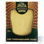 Сыр Мукко Голландский Гауда 54% 240г