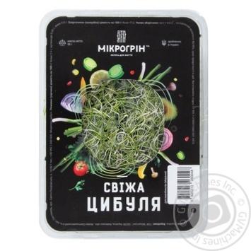Микрогрин свежий лук 50г - купить, цены на Novus - фото 1