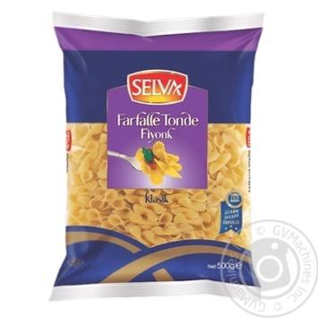 Вироби макаронні Фарфалле Тонде (Farfalle Tonde) №11 Selva 500г - купить, цены на Novus - фото 1