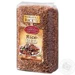Рис World`s Rice красный 500г