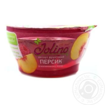 Десерт фруктовий Джоліно Персик в малиновому желе 150г - купити, ціни на Восторг - фото 2