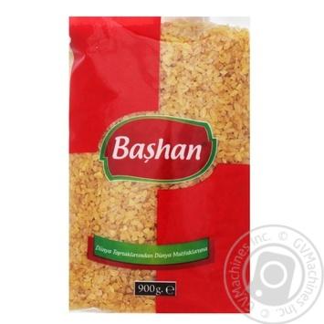 Булгур Bashan із твердих сортів пшениці крупнозернистий 900г