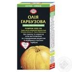 Олія гарбузова Golden Kings of Ukraine першого холодного віджиму нерафінована 100мл - купити, ціни на Ашан - фото 1
