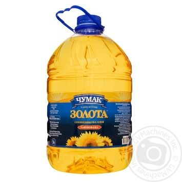 Chumak Zolota Refined Sunflower Oil 5l - buy, prices for Novus - image 1