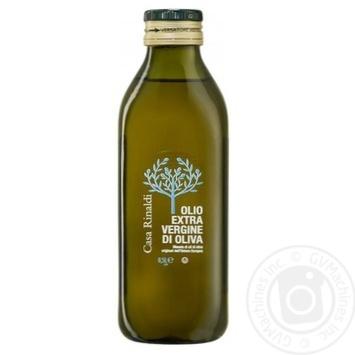 Масло Casa Rinaldi оливковое Экстра Вирджин первого холодного отжима 500мл - купить, цены на Novus - фото 1