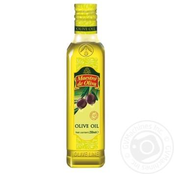 Масло Maestro de Oliva оливковое рафинированное 250мл - купить, цены на Novus - фото 1