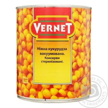 Кукуруза Vernet сладкая 850мл - купить, цены на Novus - фото 1