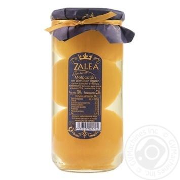 Персик Zalea в сиропе целый с косточкой 700г