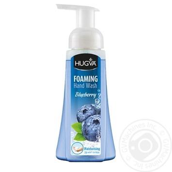 Мыло-пенка Hugva Blueberry 250мл