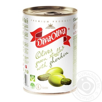 Diva Oliva Green Cucumber Stuffed Olive - buy, prices for Novus - image 1