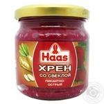 Хрен с красной свеклой Haas Пикантно-острый 200г