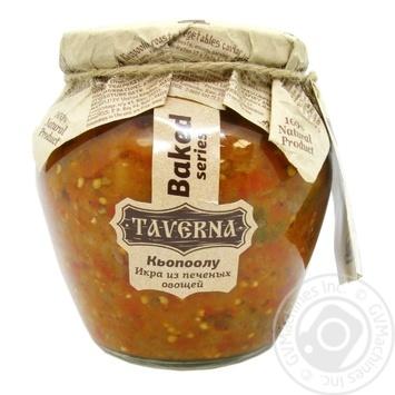Икра Кьопоолу Таверна из печеных овощей 580мл - купить, цены на Novus - фото 1