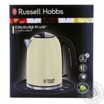 Електрочайник RUSSEL HOBBS  Colours Kettle Cream 20415-70 - купити, ціни на Novus - фото 1