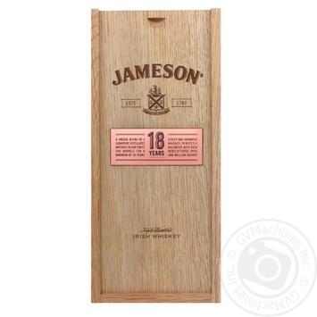 Віскі Jameson 18 років 40% 0,7л в подарунковiй упаковцi - купити, ціни на Novus - фото 1