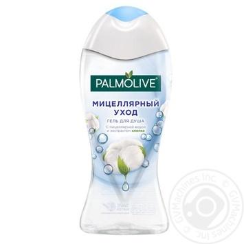 Гель для душу Palmolive Міцелярний догляд з міцелярною водою й екстрактом бавовни 250мл - купити, ціни на Ашан - фото 2