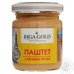 Паштет Рижское золото из печени трески 95г