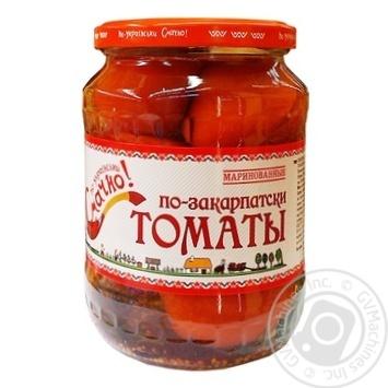 Smachno Po-Ukrainski Transcarpathian Marinated Tomatoes 660g