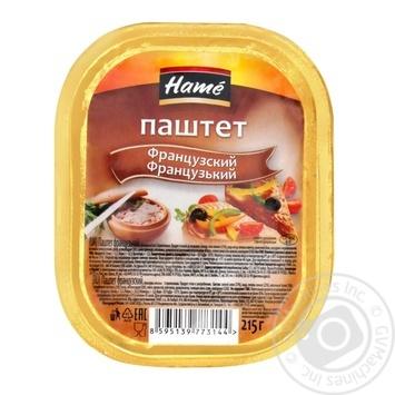 Паштет Hame Французский 215г - купить, цены на Novus - фото 1