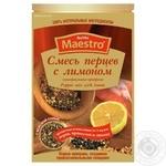 Приправа Смесь перцев с лимоном Red Hot Maestro 25г - купить, цены на Novus - фото 1