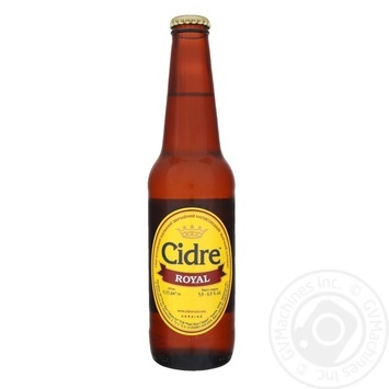 Cider Royal Fruit Garden Pear semi-sweet carbonated 5% 0.33l - buy, prices for Novus - image 1
