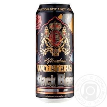 Пиво Wolters Premium Black Pilsner Beer темне 5% 0,5л - купити, ціни на Novus - фото 1