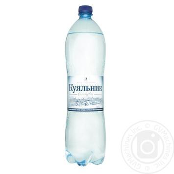 Вода Куяльник лечебно-столовая сильногазированная 1,5л - купить, цены на Novus - фото 1