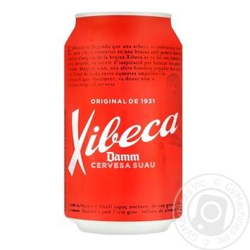 Пиво Xibeca Damm светлое 4,6% 0,33л