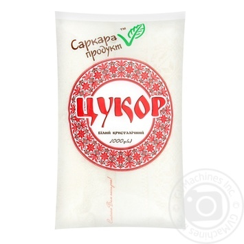 Granulated sugar Sarcara product packed 1000g - buy, prices for MegaMarket - image 1