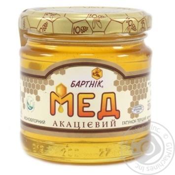 Honey Bartnik flowery 250g glass jar - buy, prices for Novus - image 1