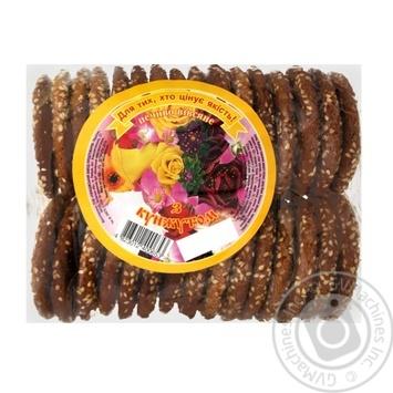 Печиво Ржищев з кунжутом 500г