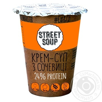 Street Soup Cream Soup with Lentils 50g - buy, prices for MegaMarket - image 1