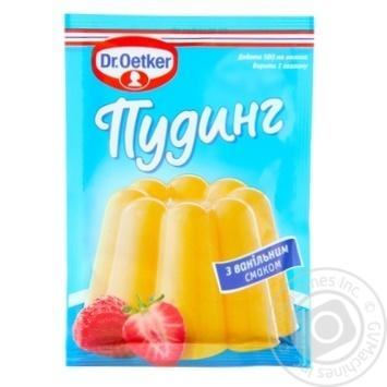 Пудинг Др.Оеткер с ванильным вкусом 40г - купить, цены на Novus - фото 1