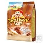 Сніданок сухий Bona Vita зернові подушечки з шоколадною начинкою 250г