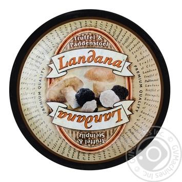 Сыр Landana с трюфелем и белыми грибами 50% - купить, цены на Novus - фото 1