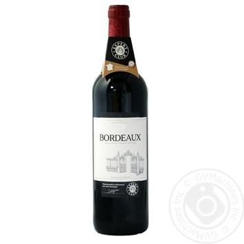 Вино Expert Club Reserve de Velours Bordeaux червоне сухе 12% 0,75л - купити, ціни на Novus - фото 1