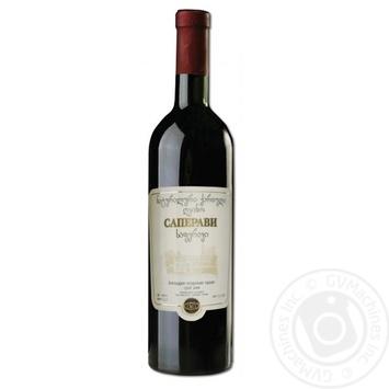 Zarya Kakhety Saperavi red dry wine 11.5-13% 0.75l - buy, prices for CityMarket - photo 1